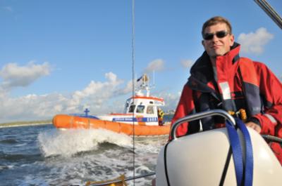 Zo maar een zeiltocht op het IJsselmeer